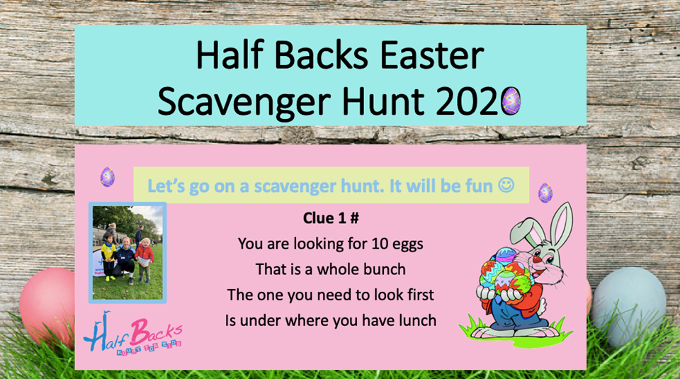 Try our free Easter Scavenger Hunt!