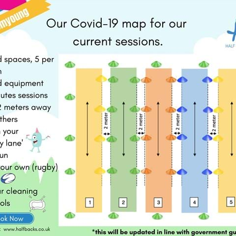 Covid-19 Map for sessions